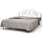 Кровать металлическая АЛЕКСАНДРИНА - 1