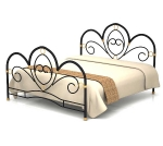 Кровать металлическая ФАНТАЗИЯ-2