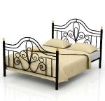 Кровать металлическая ВАЛЕНТИНА-2
